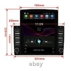 10.1 Android 8.1 Car Stereo GPS MP5 Player Single 1Din WiFi Quad Core Radio