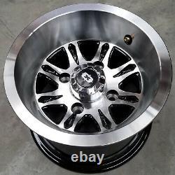10 Golf Cart RIMs WHEEL for E-Z-GO Club Car Yamaha SET OF 4 10x7 4/4 Aluminum
