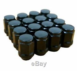 12 Gt Gloss Black Golf Cart Wheels & 215/40-12 Dot Low Profile Tires Set Of 4