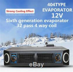 12V 3 Speed 32 Pass Coil Car Underdash Evaporator Compressor A/C Air Conditioner
