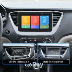 1Din 10.1 Android 8.1 Quad Core Car Radio In-Dash Stereo GPS Wifi 3G/4G Player
