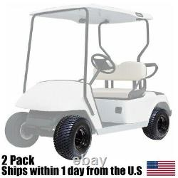 (2) 18x8.50x8 ATV Golf Cart P322 Tire Rim Assembly Fits EZGO Club Car Yamaha