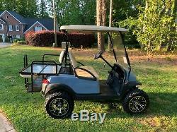 2013 Lifted Club Car Precedent 48 Volt Golf Cart Black