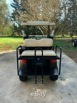 2016 Lifted Club Car Precedent 48 Volt Golf Cart Black