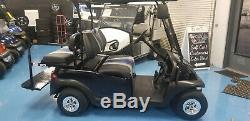 2018 Club Car Golf Cart Custom Gorgous Black Speed Code 48v 4 Passenger