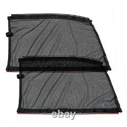 2xUniversal 70x47cm Car Side Window Curtains Sun Shade UV Protection Accessories