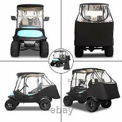 4 Passenger Golf Cart Enclosures for Club Car Precedent with Security Side
