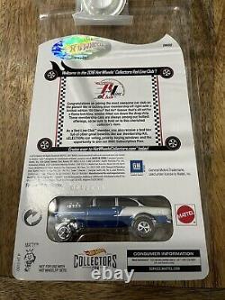 55 CHEVY BEL AIR GASSER (Blue) Hot Wheels RLC EXCLUSIVE'16 Club Car 5176/5500