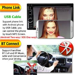 6.2 Double 2 Din 800480 Car MP5 Player Bluetooth Stereo FM Radio Mirror Link
