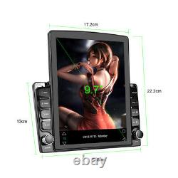 9.7'' Android 9.1 Quad-core 2+32GB Car Stereo Radio GPS Navi MP5 Player WIFI 4G