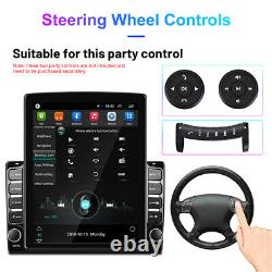 9.7 Android 9.1 Touch Screen Quad Core Car Stereo Radio MP5 Player Wifi GPS