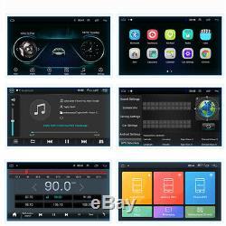 9 Android 8.1 1 DIN Car Stereo GPS Navi Radio DAB+ OBD WiFi Mirror Link 1+16G