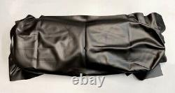 BLACK Front Seat Cover For Club Car DS 2000-Up
