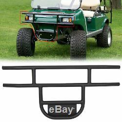 Black Club Car Golf Cart Brush Guard Fits 1981-Up DS Models