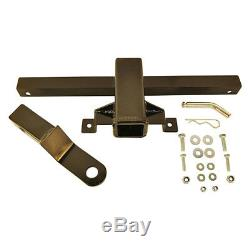 Black Steel Trailer Hitch Tow receiver For Club Car DS Golf Carts 1981 Up