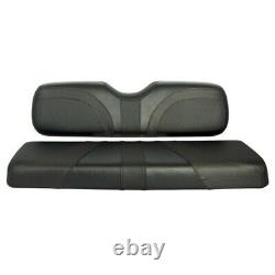 Blade Golf Cart Front Seat Covers for Club Car DS-Black/Black Trexx/Black Carbon