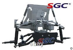 CLUB CAR PRECEDENT GOLF CART 6 SGC A-ARM LIFT KIT + 12 WHEELS and 22 AT TIRES