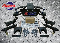 CLUB CAR PRECEDENT GOLF CART SGC 6 A-ARM LIFT KIT + 10 WHEELS and 22 AT TIRES