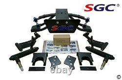 CLUB CAR PRECEDENT GOLF CART SGC 6 A-ARM LIFT KIT + 14 WHEELS and 23 AT TIRES