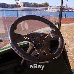 Club Car DS Aviator 5 Steering Wheel Kit (Black Grip with Black Spokes)