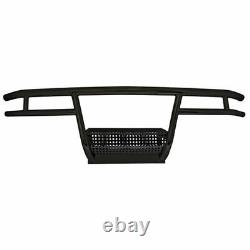 Club Car DS Black Powder Coated Front Brush Guard