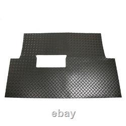 Club Car Precedent (04-Up) Golf Cart Black Diamond Plate Floor Shield Mat