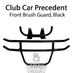 Club Car Precedent Front Brush Guard Black Powder Coated