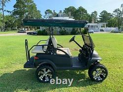 Club Car Precedent Gas Golf Cart Black / Black