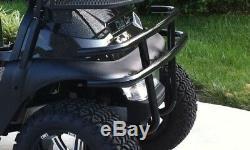 Club Car Precedent Golf Cart Black Front Bumper Brush Guard