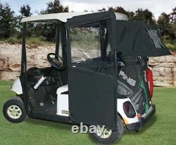 Doorworks Club Car Prec Black Golf Cart Sunbrella Cabana Golf Bag Cover Reduced