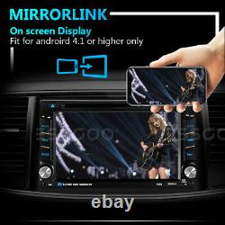 Double 2 DIN 6.2 Car CD DVD Player Stereo Audio SAT GPS Navi Touch Screen Radio