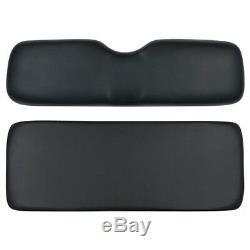 Ezgo Yamaha Club Car Golf Cart Black Rear Seat Replacement Cushions