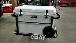Ezgo club car yamaha Yeti Tundra Haul golf cart hitch cooler carrier BLACK