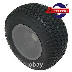 GOLF CART 10x7'' SPIDER WHEELS and 20 STREET/TURF TIRES (SET OF 4)