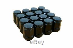 GOLF CART 12 BLACKJACK GLOSS BLACK WHEELS & 23x10.5-12 AT TIRES (SET OF 4)