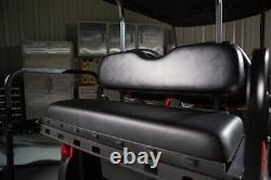 GTW Mach3 Club Car DS (2001-Up) Golf Cart Rear Seat Kit (Black)