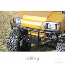 Golf Cart Black Powder Coat Steel Brush Guard for Club Car DS