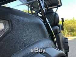 Golf Cart Club Car Electric Vehicle Custom Lifted Build Black Precedent
