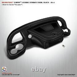 Golf Cart Double Take Dashboard 04-08 Club Car Precedent black/black