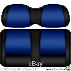 Golf Cart Seats-Front Cushions- Duke Blue Devils Club Car, E-Z-GO, Yamaha