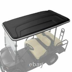 Golf cart extended long top canopy roof BLACK club car Ezgo yamaha star 80 80
