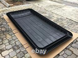 Golf cart extended long top canopy roof black club car Ezgo yamaha star 88 88