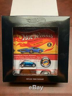 Hot Wheels Club RLC Complete Original 16 Black Box Set (All 16 Cars)