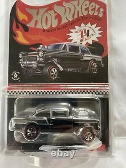 Hot Wheels RLC 55 Chevy Gasser Club Car Black