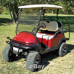 Jake's Club Car Golf Cart Black Brush Guard Fits Precedent 2004 and Up