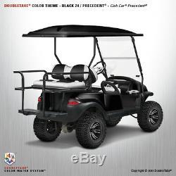 NEW Club Car Precedent Golf Cart Black Front & Rear Black Body Cowl Set Kit